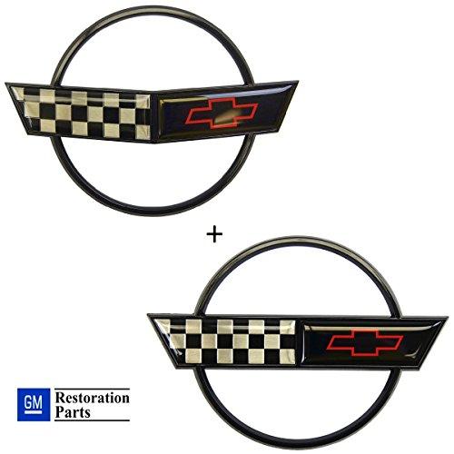 corvette c4 chrome letters - 6