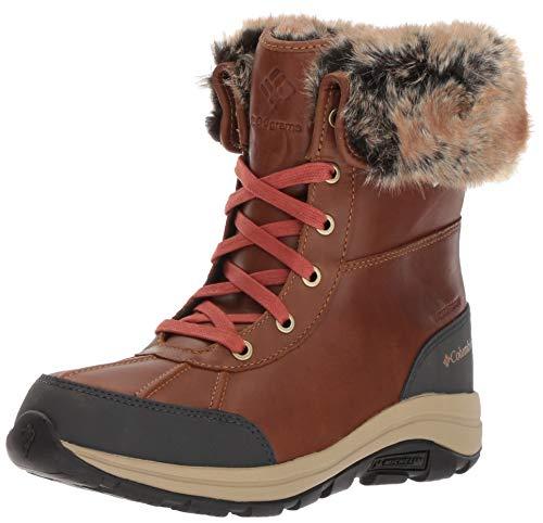 Columbia Bangor Omni-Heat, Botas de Nieve Mujer, Marrón (Elk, Rusty), 39 EU