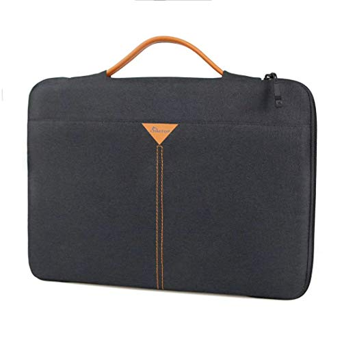 SIMTOP 360° Protective Case for Laptops 13.3 Inches, Water Resistant Laptop Bag Compatible with 13.3 Inch MacBook Air MacBook Pro with Model A1466, A1369, A1502 A1425 and Surface Laptop and More