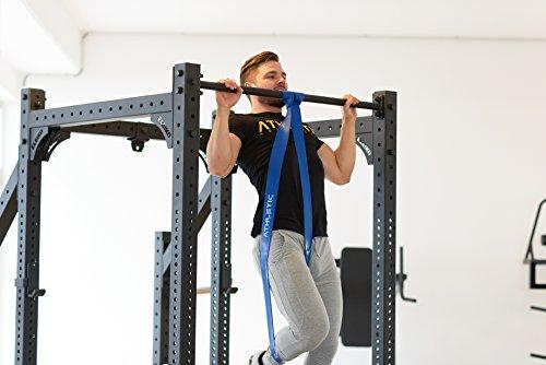 Premium Widerstandsbänder + Tasche und Übungsanleitung – Fitnessbänder - 7