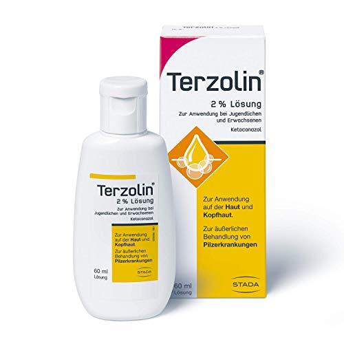 Terzolin medizinische Schuppen-Kur – 2% Lösung zur Anwendung bei Jugendlichen und Erwachsenen – 1 x 60 ml