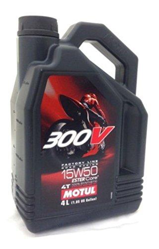 MOTUL 300V 4T Factory Line 15W50 4L [並行輸入品]