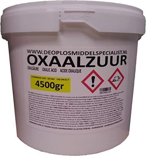 Acide oxalique 4500g (sel doseille)