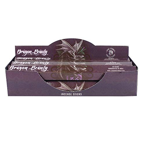 Dragon Beauty Incense Sticks Box Of 6 Packs Anne Stokes