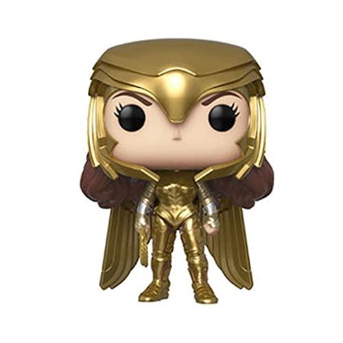 pop it wonder woman naiping Wonder Woman 1984 Pop Figure Wonder Woman[Gold] Chibi Vinly PVC Decor Collector's Item