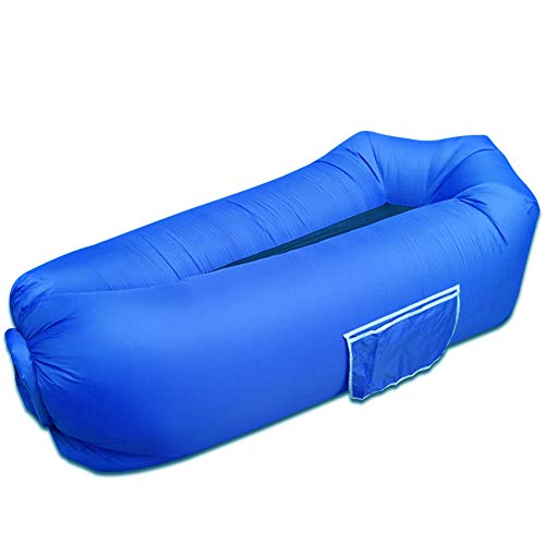 HUOU Inflatable lounger, 2019 New Waterproof inflatable Sofa with Storage Bag...
