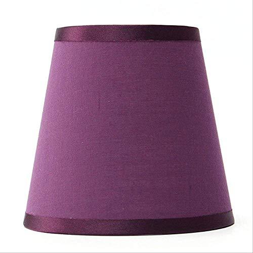XSHIYQ Tissu Lustre Abat-Jour Titulaire Clip Sur Applique Chambre À Côté Du Lit Lampe Lumière Lampe Couvre 80 * 120 * 110mm Violet