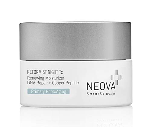 NEOVA SmartSkincare Reformist Night Tx moistuizer delivers DNA Repair, Copper Peptides and replenishes & optimizes skin repair during the restorative hours of rest.