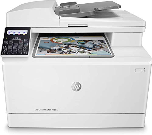 HP Color Laserjet Pro MFP M183fw Multifunction Wireless Printer, Scan, Copy and Fax with Built-in Fast Ethernet, 7KW56A (Renewed)