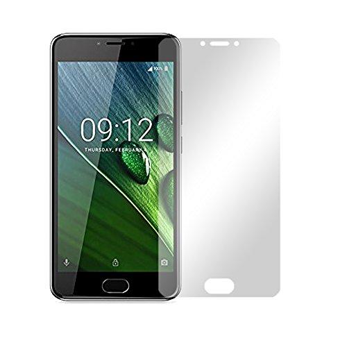 Slabo 2 x Displayfolie für Acer Liquid Z6 Plus Displayschutzfolie Zubehör Crystal Clear KLAR