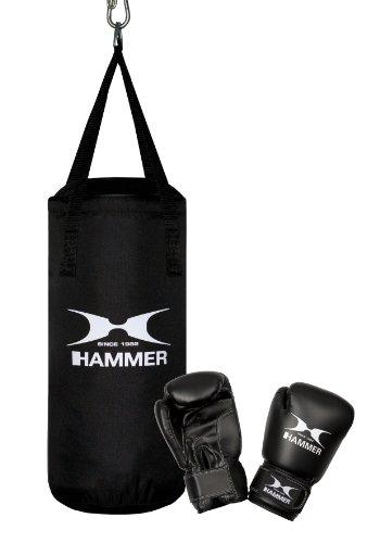 Hammer Boxsack Box- Set Fit Junior, Schwarz, One size, 92090