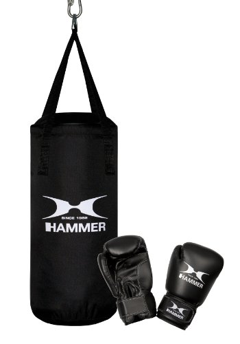 Hammer Boxsack Box- Set Fit Junior, Schwarz, One size, 92090