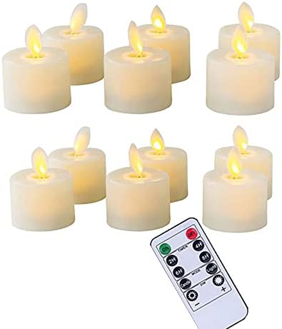 Led discount Candles Tucson Mall Pack Of 6 Or Remote 12 Not Batte Flameless