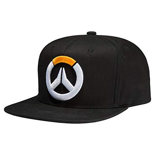 JINX Overwatch Frenetic Snapback Baseball Hat, Black, One Size