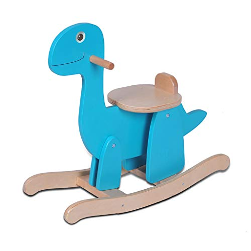 Why Should You Buy Rocking horse LITING Wood Easy Assembling Small Trojan Child Gift Present