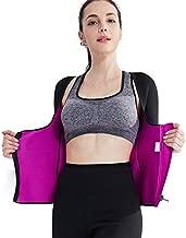 Valentina Womens Long Sleeve Arm Shaper Slimming Shirt Waist Cincher Firm Control Bodysuit for Weight Loss