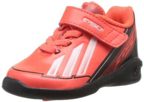 adidas F50 Adizero I Unisex Baby Laufschuhe, Rot/Schwarz/Weiß - Größe: 21 EU