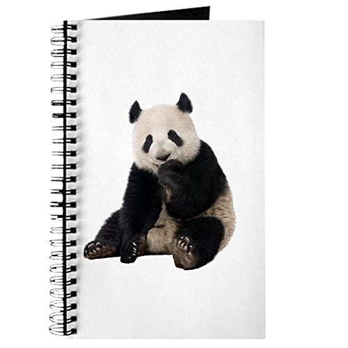 Journal (Diary) with Panda Bear Youth on Cover White