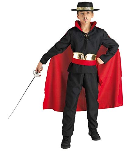 chiber Disfraces Disfraz Niño Don Diego El Zorro (Talla 4 (3-4 años))