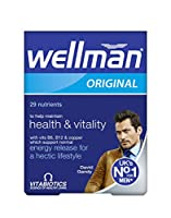 Vitabiotics Wellman Advanced Vitamin & Mineral Supplement 30 Tablets