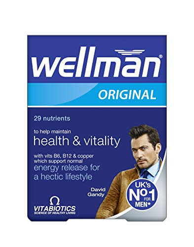 Wellman Vitabiotics Original – 30 Tablets
