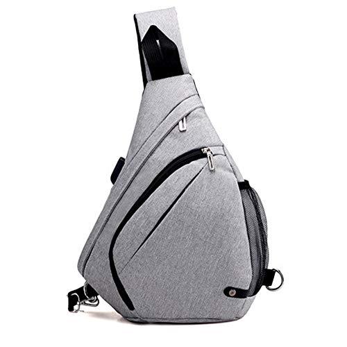 Oxford Sling Bag Backpack Sport Travel Chest Bag Crossbody Shoulder Daypack for men