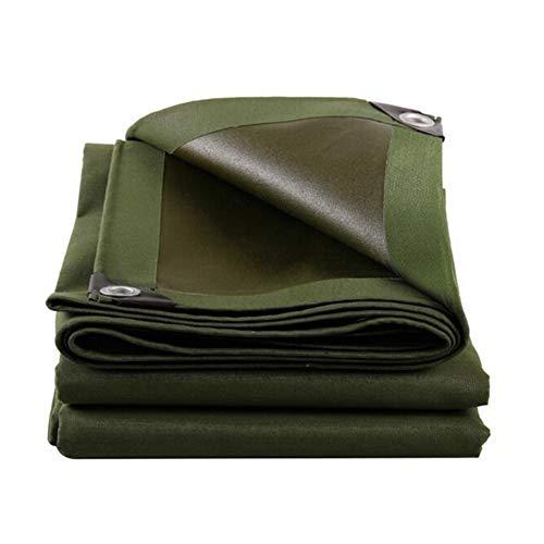 WYYY Plane Plane Dick Regenfestes Tuch Wasserdicht Sonnencreme Markise Baldachin Tuch Anti-Aging-Foldable (Color : Green, Size : 3×3m)