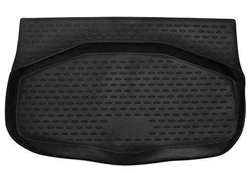 AD Tuning TM22017 Passform Gummi Kofferraumwanne, rutschfest, schwarz