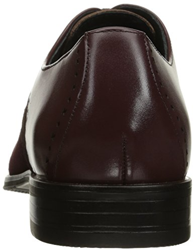Stacy Adams Men's Sedgwick Cap Toe Oxford, Oxblood, 10.5 M US