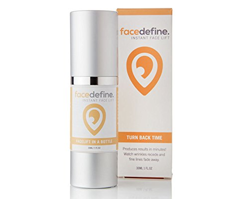 Original Facelift in a bottle. Look 10 years younger instantly. Puffy eyes, forehead, deep lines