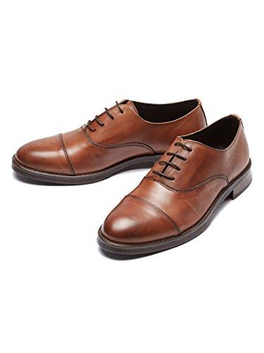 Selected Homme - SHDMARC cuir chaussure NOOS - Homme Marron clair Taille 40 cuir véritable. intérieur en cuir véritable et textile. semelle extérieure en synthétique.