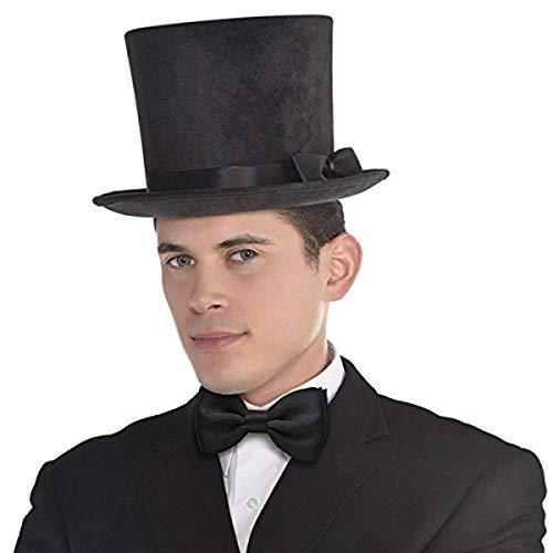 Victorian Deluxe Black Top Hat