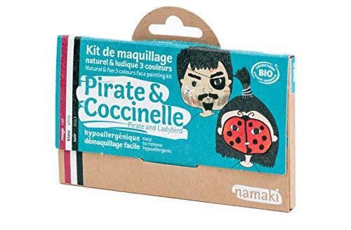 Namaki 3 couleurs Kit Maquillaje Pirata