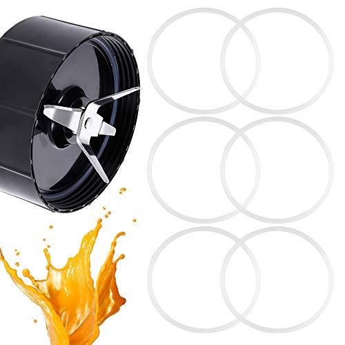 OLRWSLG 6 Stücke Mixer Dichtung Ring Gummi Dichtungsring O-Typ Ersatzteil Dichtung Mixer Blender Zubehör, für Rühr der 250W-Serie