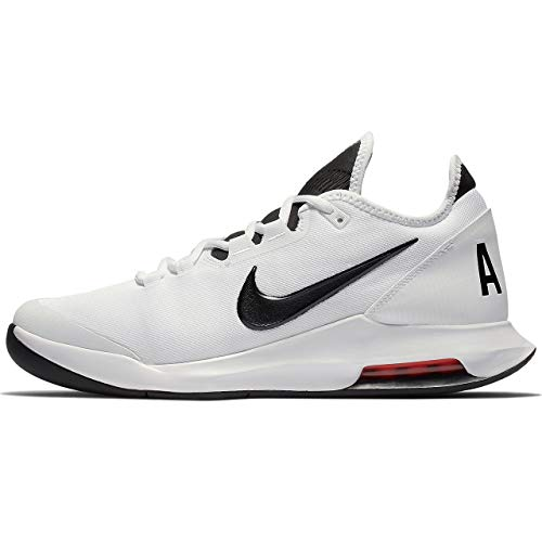Nike Air Max Wildcard HC, Scarpe da Ginnastica Uomo, White/Black/White/Bright Crimson, 42.5 EU