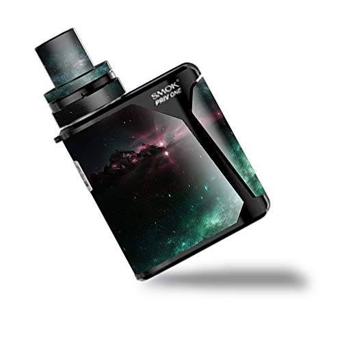 IT'S A SKIN Decal Vinyl Wrap for Smok Priv One AIO kit Vape Vape Skins Stickers Cover/Galaxy Planet Shine Moon