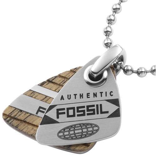 Fossil Jewelry - Cadena de acero inoxidable