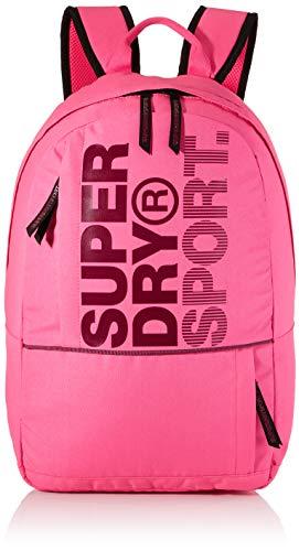 Superdry Damen Sport Backpack Rucksack, Pink (Sugar Pink), 28x15x50 cm