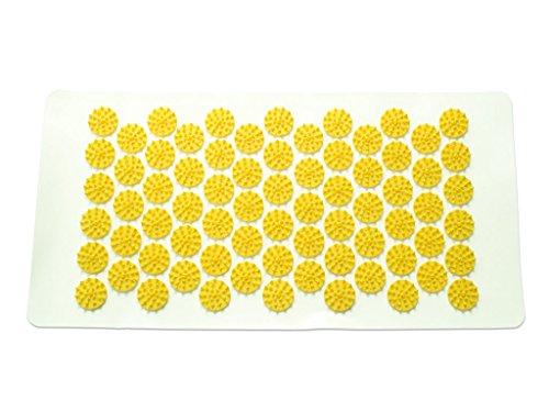 HISTAMAT Nadelreizmatte   Das Original   ca. 44 x 22 cm   Nadelreizmatte   Akupressurmatte (gelb)