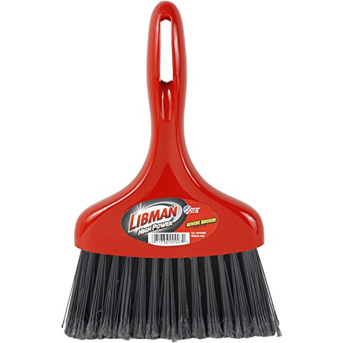Libman 907 Whisk Broom with Hanger Hole For Storage