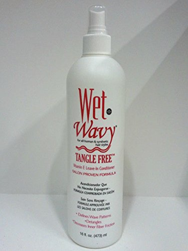 Wet N Wavy Vitamin E Leave-in Conditioner 12 Oz by Wet n Wavy