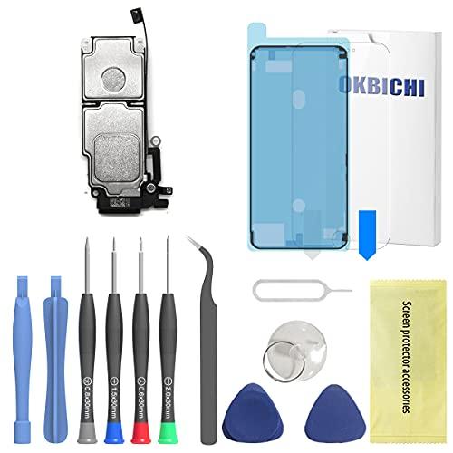 OKBICHI Altavoz Buzzer Auricular de Repuesto Compatible con iPhone 8 Plus Ringer...