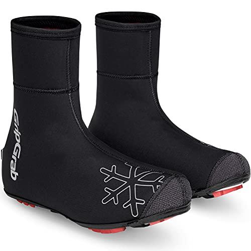 GripGrab Arctic X Couvre-Chaussures de VTT d'hiver avec Doublure extrêmement Chaude et imperméable