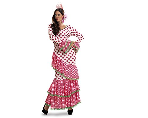 Desconocido My Other Me - Disfraz de Flamenca, talla XL, color rojo (Viving Costumes MOM01117)