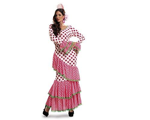 My Other Me - Disfraz de Flamenca, talla XL, color rojo (Viving Costumes MOM01117)