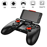 Mobile Game Controller Wireless Bluetooth Game Controller Gamepad Joystick for Android iOS iPhone iPod iPad Mobile Phone Tablet