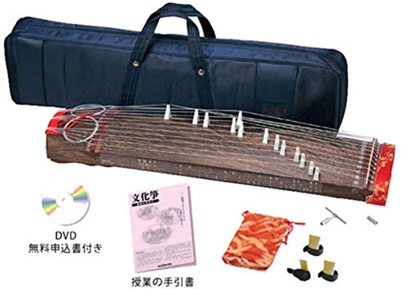 馬鹿げた心配カウンターパート文化箏羽衣 学校教育用 ZK-05(立柱ケースケース仕様)