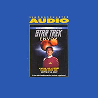 Star Trek: Envoy (Adapted) audiobook cover art