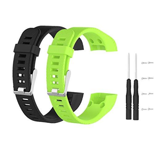 Meiruo Armband für Garmin Vivosmart HR+, Fitness Band für Garmin Vivosmart HR Plus (Colour 7)