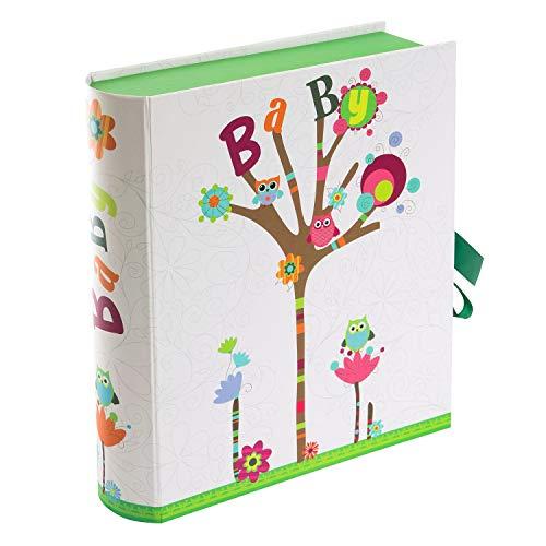 goldbuch 85010 Babysammelbox Kleine Eule mit 3 Schubern und Tasche ca. 26 x 24 x 6,5 cm